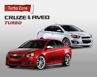 Turbo Zone CRUZE & AVEO TURBO