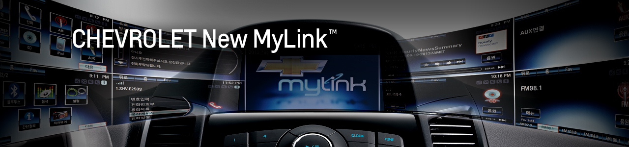 CHEVROLET New MyLink