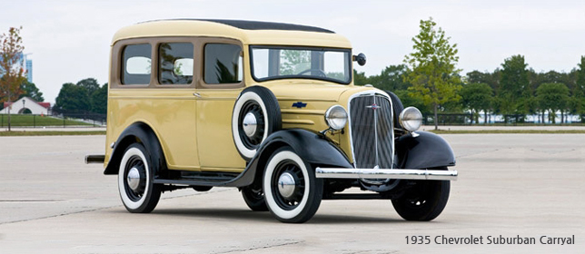 1935 Chevrolet Suburban Carryal